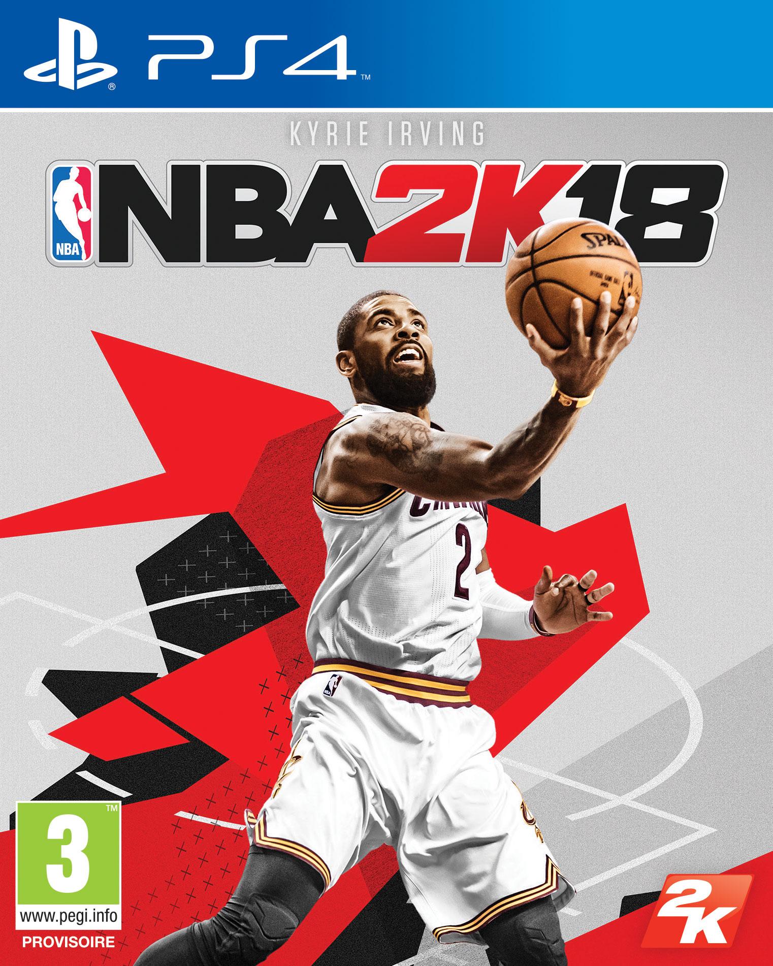 Kyrie Irving sera en couverture de NBA 2K18 - La Sueur
