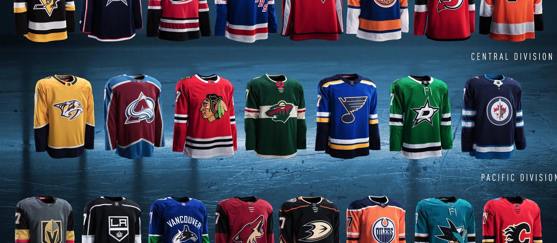 Adidas dévoile ses nouveaux maillots pour la NHL