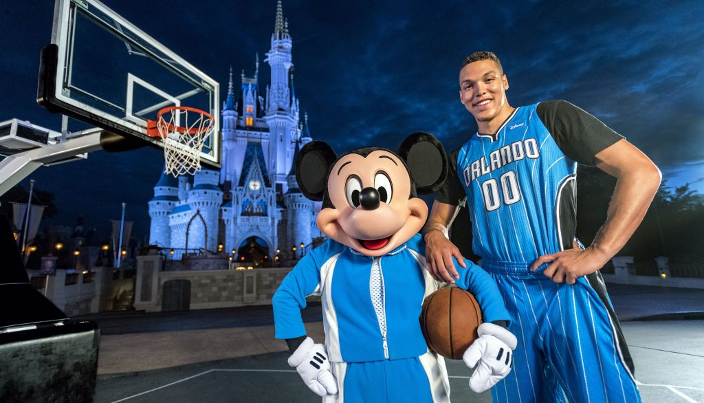 Le Orlando Magic va avoir Disney comme sponsor maillot