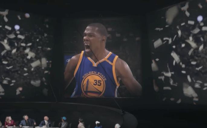 La superbe vidéo de Nike hommage aux Finales de Kevin Durant