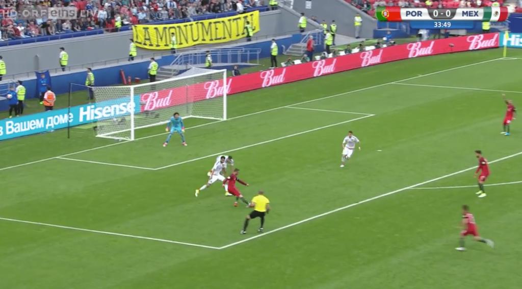La superbe passe décisive de Cristiano Ronaldo pour Quaresma