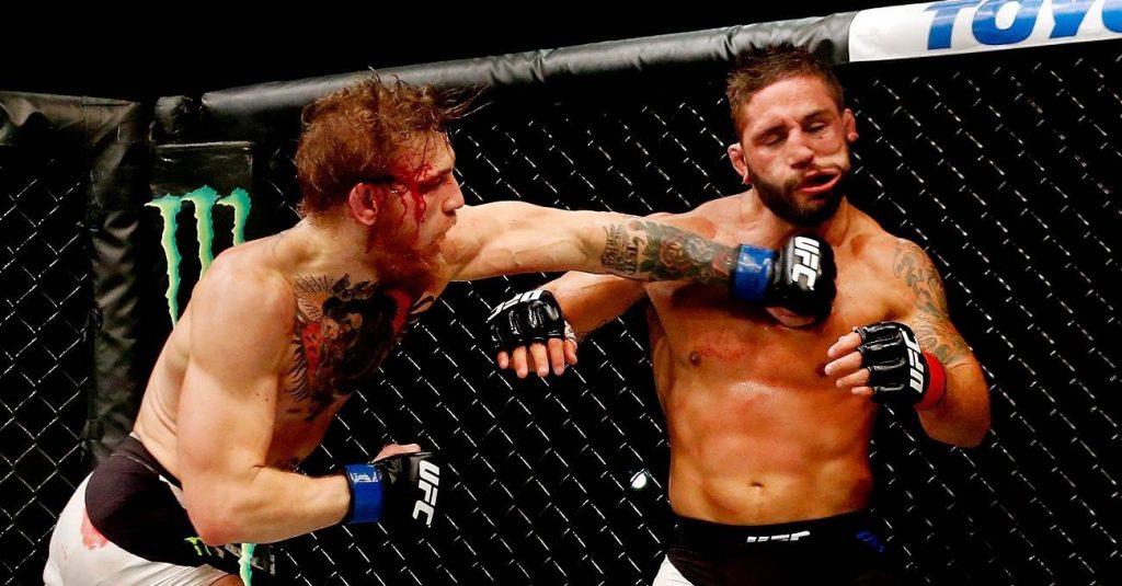 UFC 189 – Conor McGregor et sa victoire héroïque contre Chad Mendes