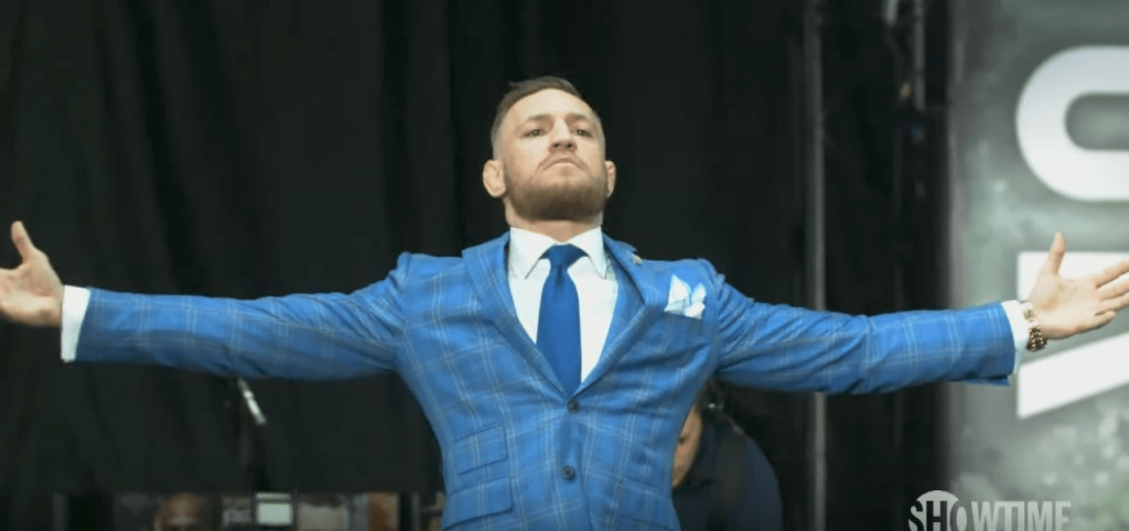 Conor McGregor a fait le show lors de la seconde Conférence de Presse