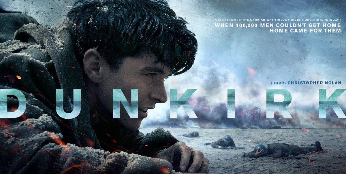 Critique Dunkerque – Christopher Nolan pour une maestria de tension