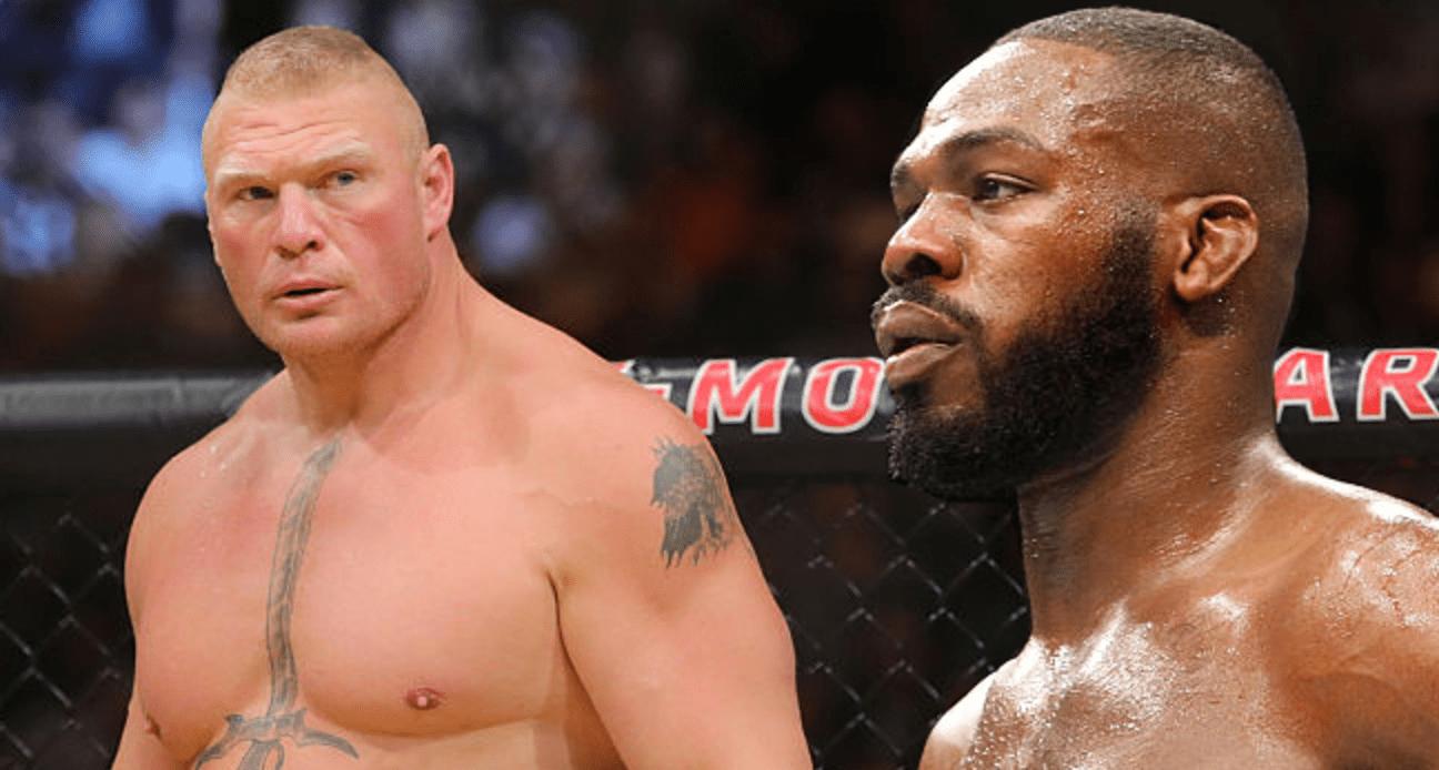 Après sa victoire, Jon Jones challenge Brock Lesnar, qui lui répond!