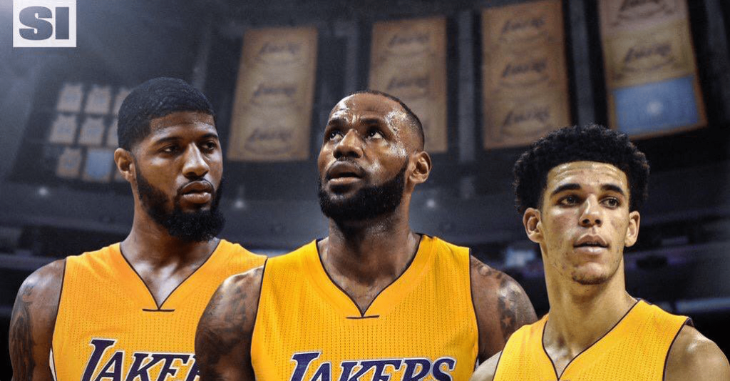 Les Lakers vont viser Paul George et LeBron James en 2018