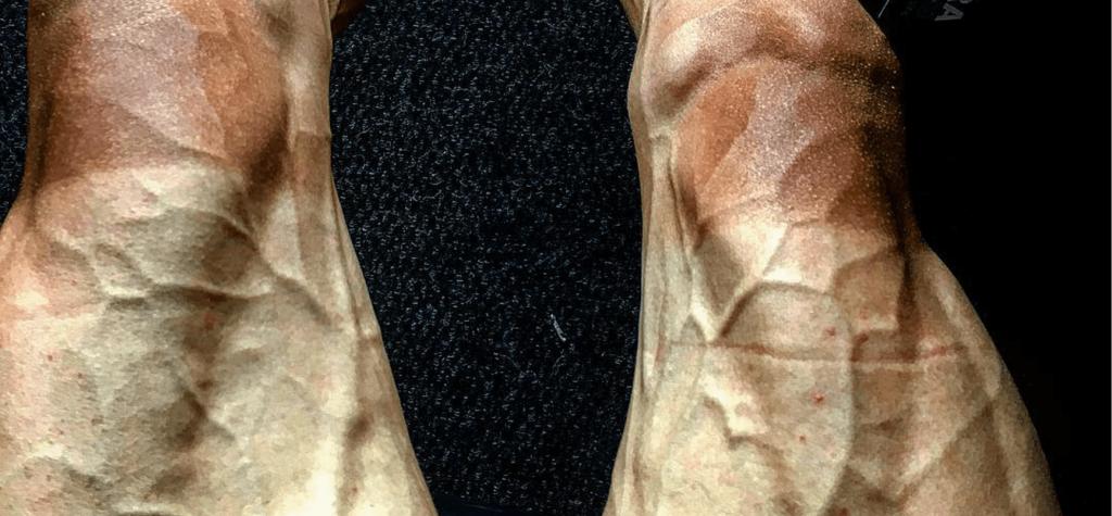Les jambes de Paweł Poljański après 16 étapes du Tour de France