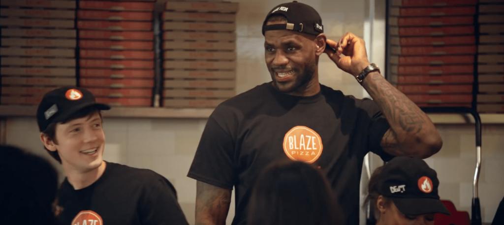 Les Pizzerias de LeBron James et leur croissance historique aux US