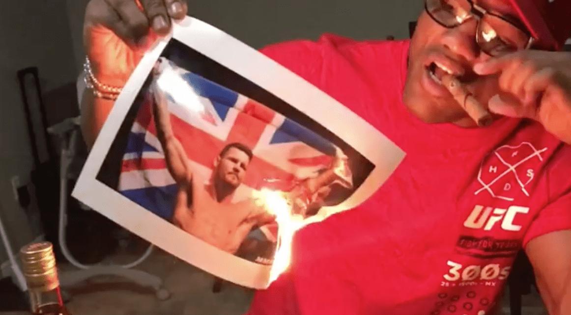 Yoel Romero répond à Michael Bisping par le feu