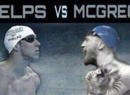 Michael Phelps évoque une course contre Conor McGregor