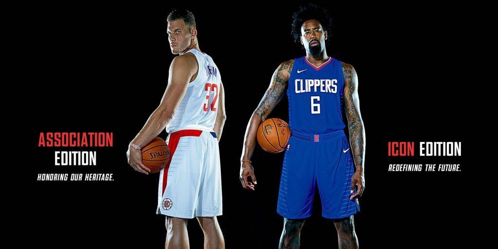 Les Los Angeles Clippers dévoilent leurs nouveaux maillots