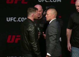 Michael Bisping vs. Georges St-Pierre officiel pour l'UFC 217 – le trashtalk commence