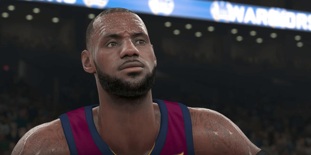 NBA 2K18 – Une première bande-annonce présente les nouveautés graphiques!