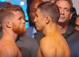 Canelo Alvarez et Gennady Golovkin font le poids