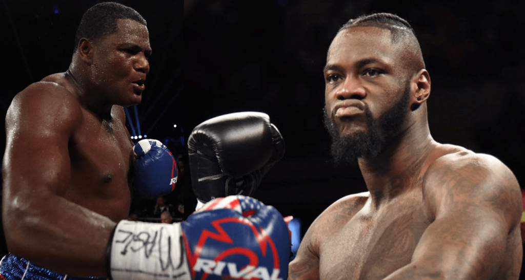 Deontay Wilder Luis Ortiz officiel