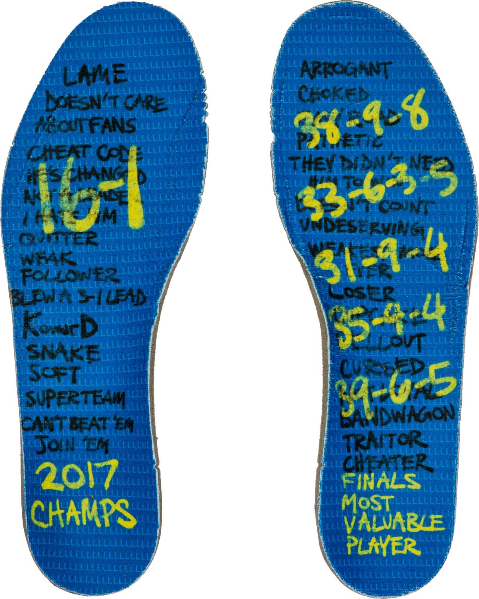 Nike dévoile les KD 10 «Finals» - le trashtalk passe un cap