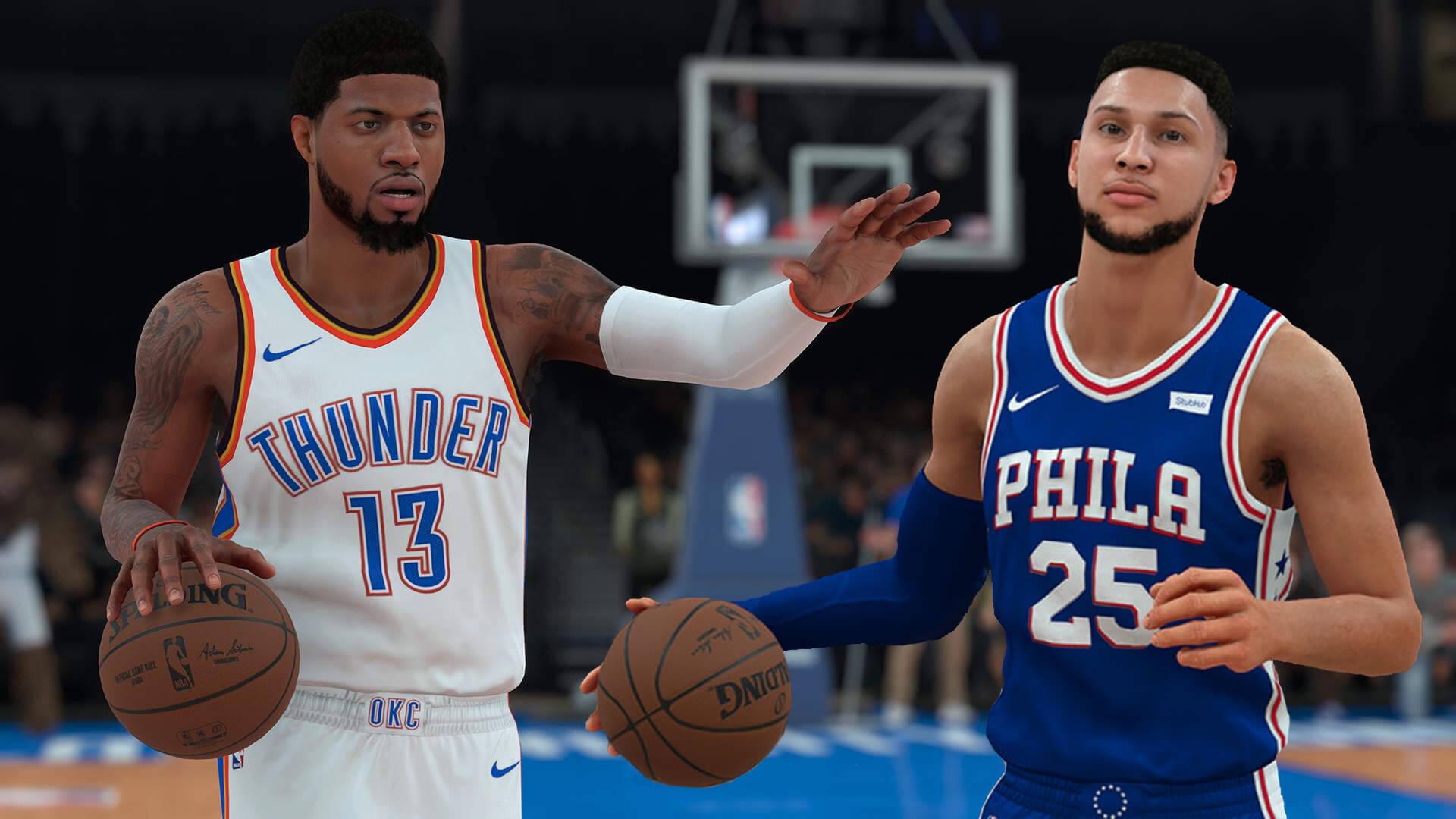 NBA 2K18 Test