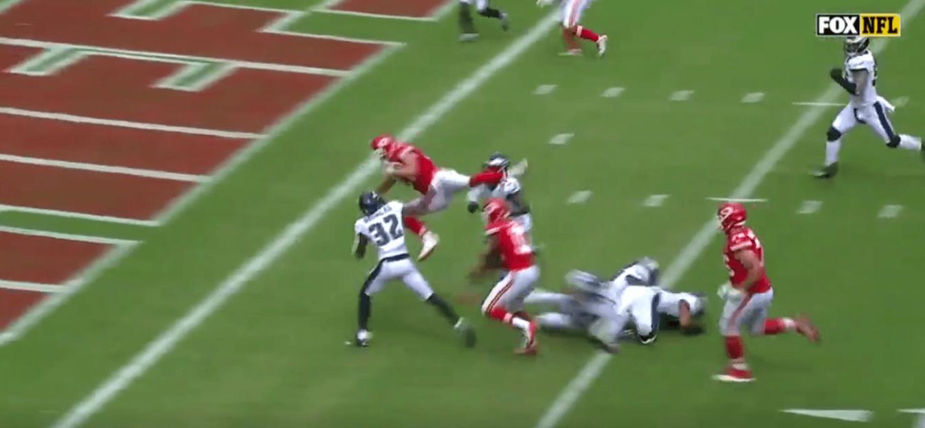 Le touchdown fou de Travis Kelce contre les Philadelphia Eagles