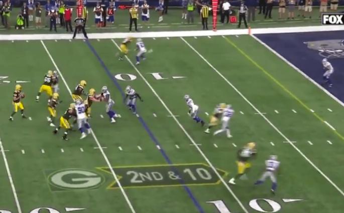 Aaron Rodgers se paye les Dallas Cowboys à 11 secondes de la fin