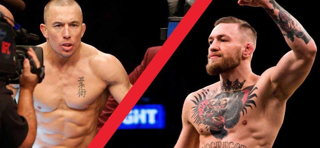 Le Président de l'UFC commence à évoquer McGregor vs. St-Pierre