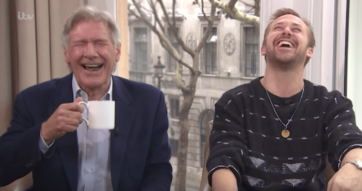 Harrison Ford et Ryan Gosling se tapent des barres en interview