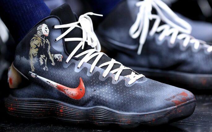Karl Anthony Towns Nike Hyperdunk Halloween