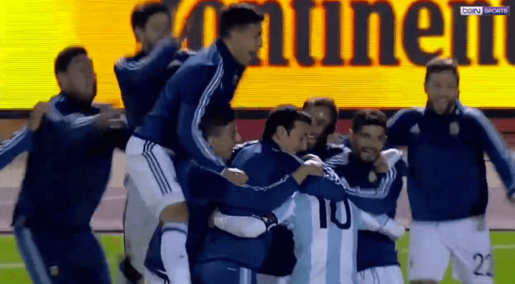 Le triplé de Lionel Messi contre l'Équateur pour qualifier l'Argentine