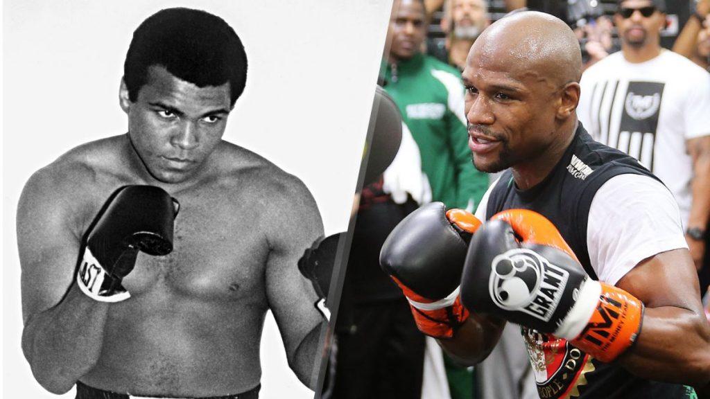 Floyd Mayweather est-il meilleur que Muhammad Ali?