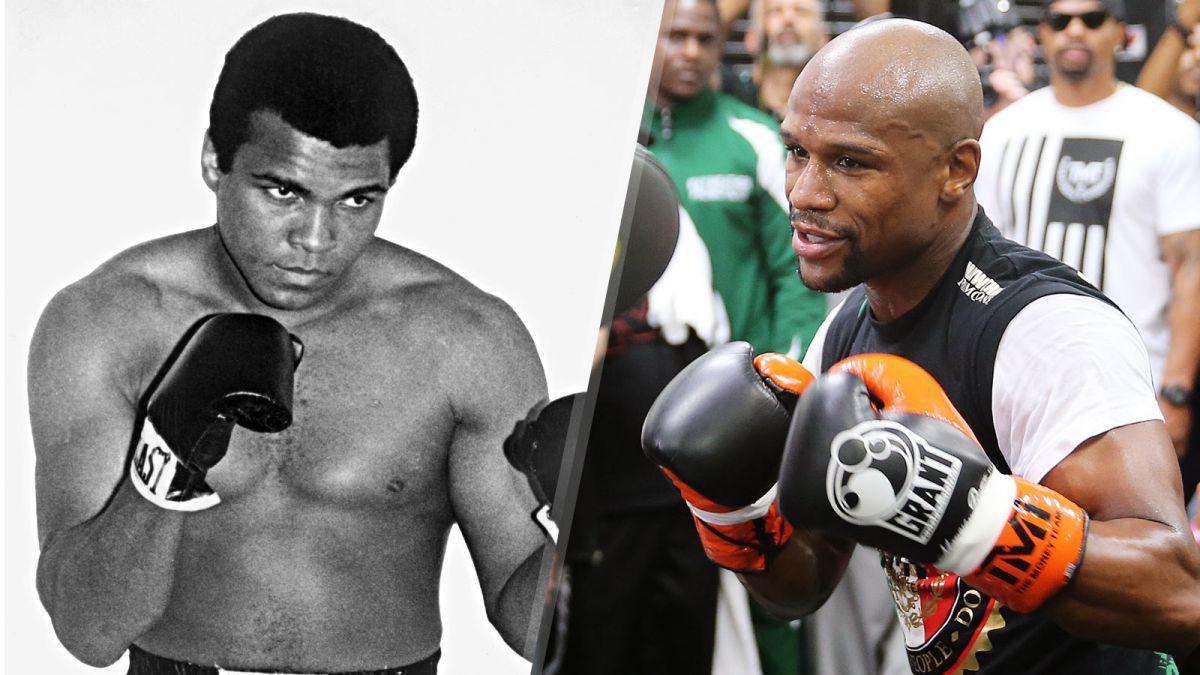 Floyd Mayweather est il meilleur que Muhammad Ali ?