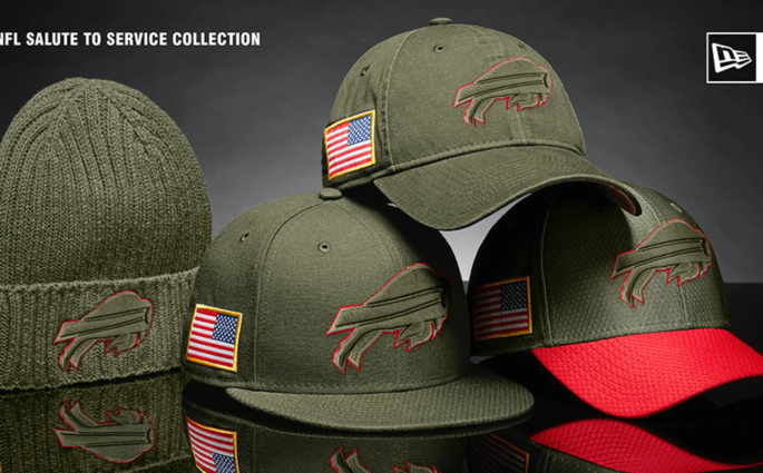 "La collection NFL ""Salute to Service"" débarque en France !"