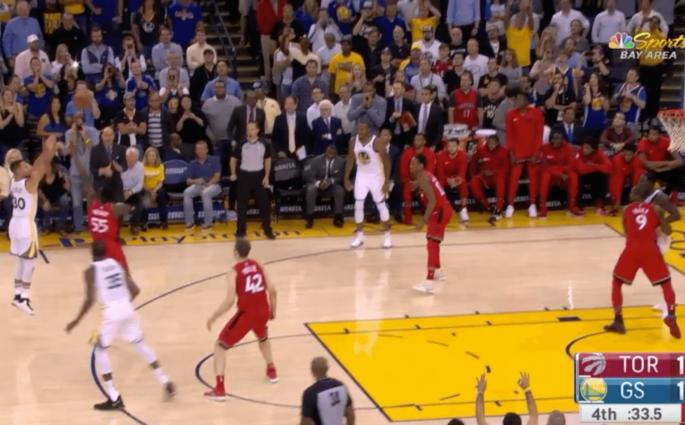 Raptors Warriors Curry Durant