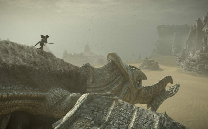 Shadow of the Colossus trailer Paris Games Week