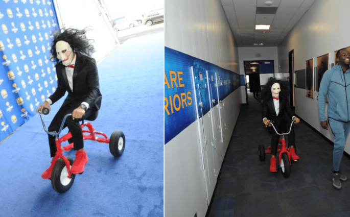 Stephen Curry Oracle Arena costume