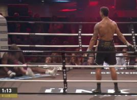 Tony Yoka Jonathan Rice knockdown