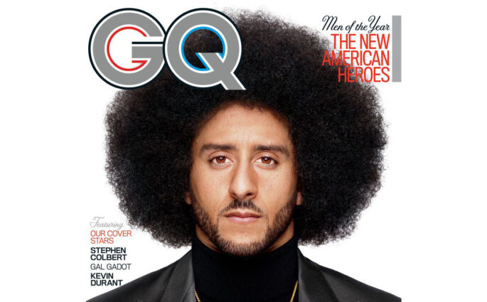 Colin Kaepernick GQ Citizen of the Year