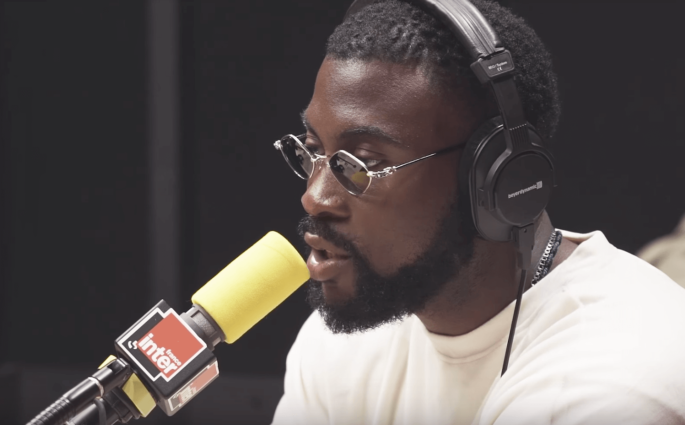 Damso Freestyle France Inter