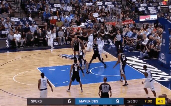 Dennis Smith Jr Dallas Mavericks San Antonio Spurs