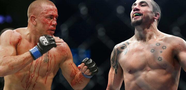 L'UFC vise Georges St-Pierre vs. Robert Whittaker pour l'UFC 221