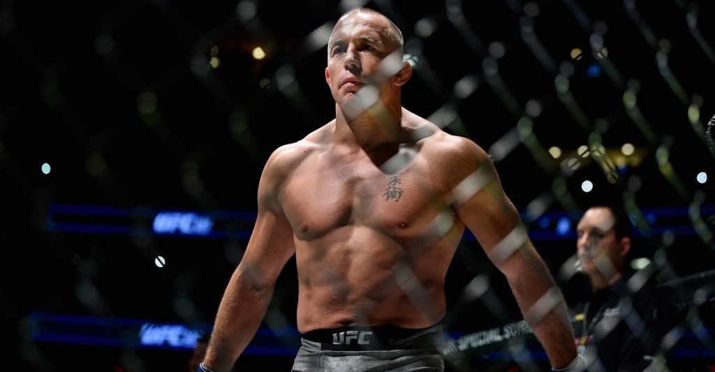 Georges St-Pierre UFC 217 legende
