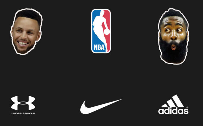 Harden Curry Nike NBA
