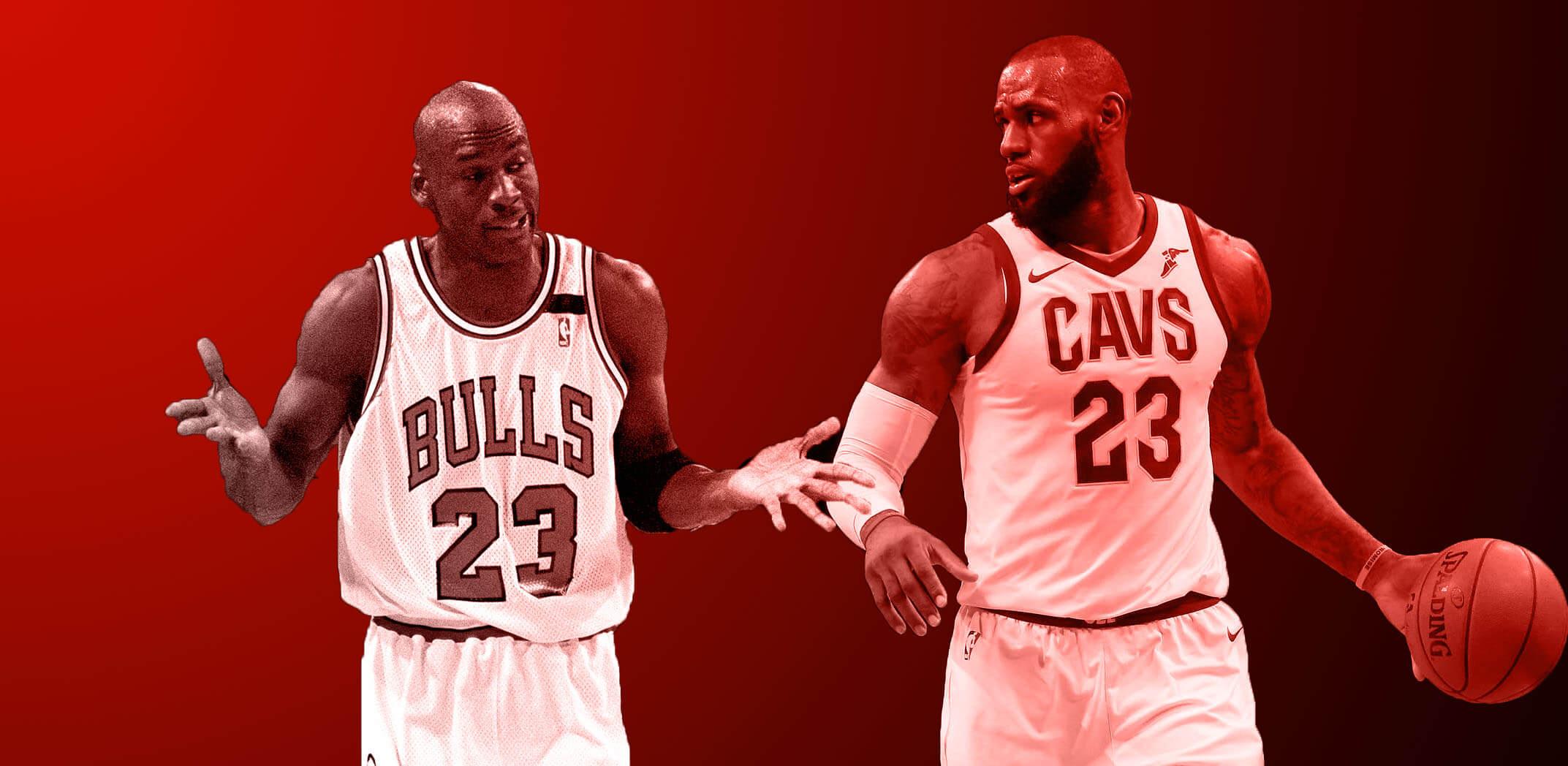 LeBron James Michael Jordan 1072 (1)