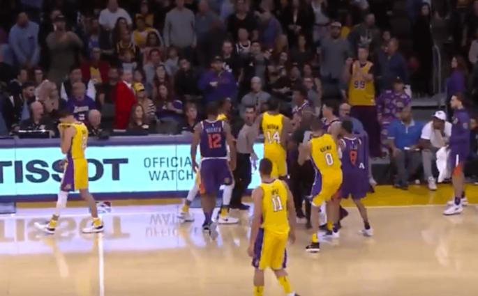 Lonzo Ball Lakers Suns
