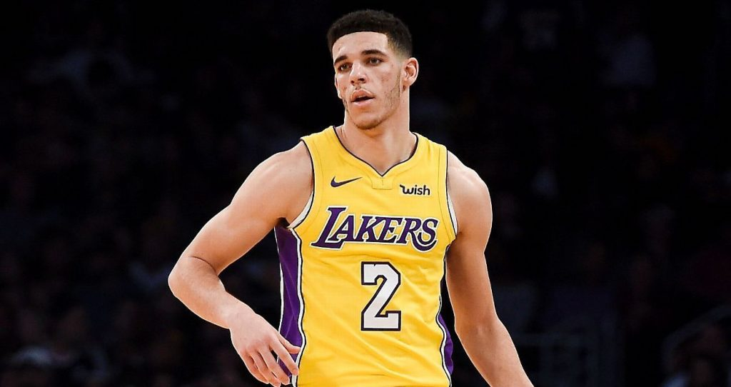 Lonzo Ball Los Angeles Lakers Denver Nuggets