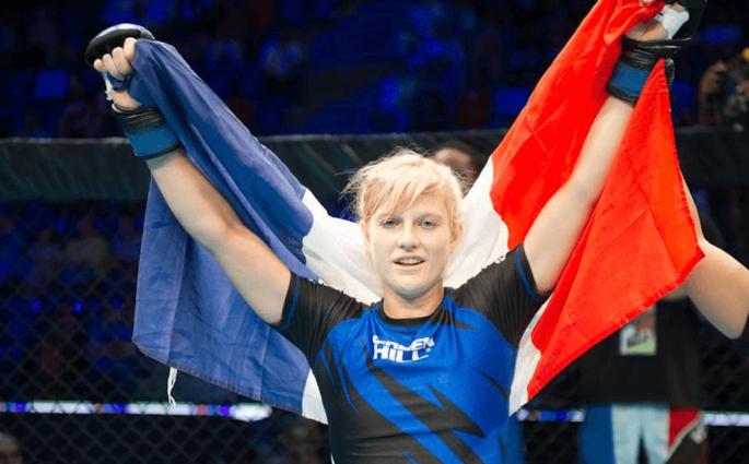 Manon Fiorot championne monde MMA amateurs