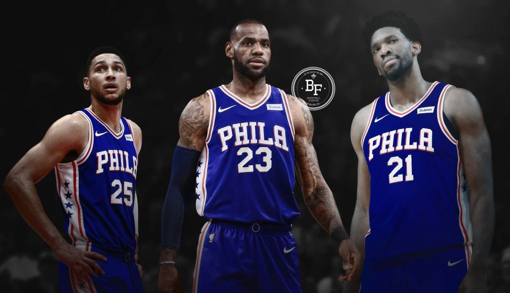 Philadelphia Sixers LeBron James 2018