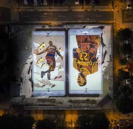 Les 5 nouveaux terrains de basket Nike de Manille sont une dinguerie