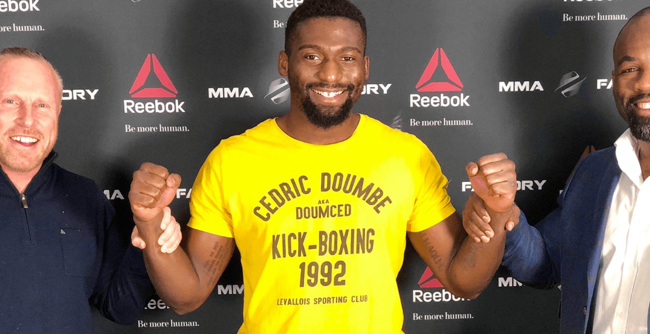 Cedric Doumbe MMA UFC
