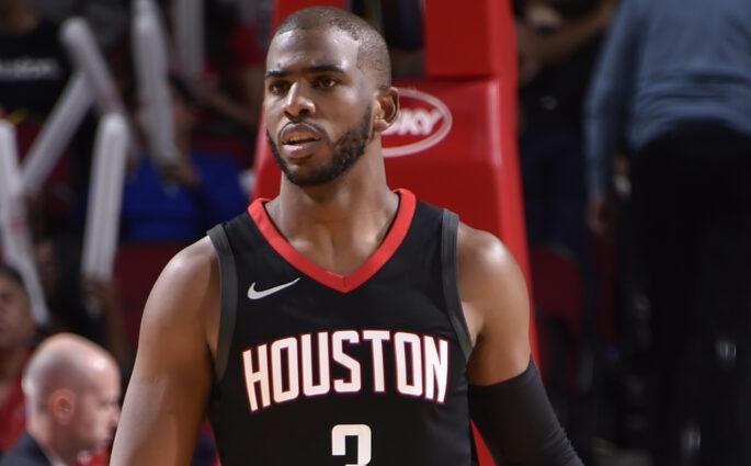 Chris Paul Hornets Rockets