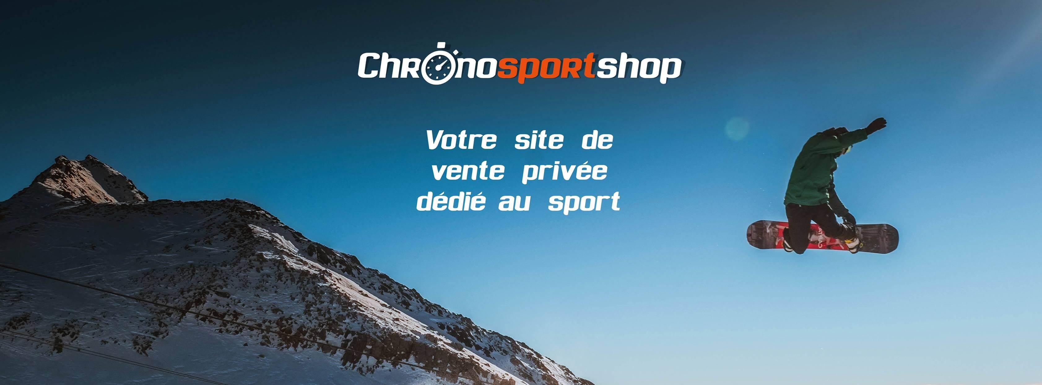 Chronosportshop votre site de ventes priv es d di au sport - Sport ventes privees ...