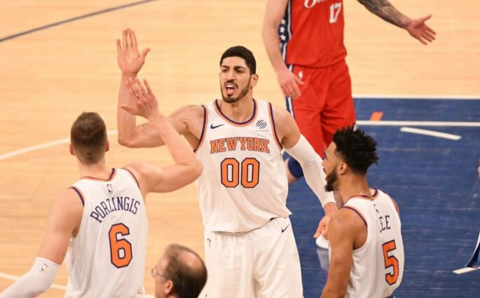 Enes Kanter Sixers